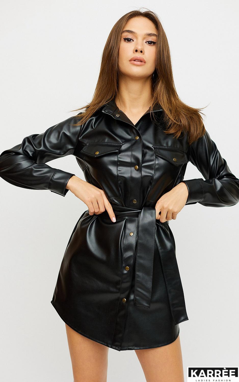 Платье Алси, Черный - фото 1