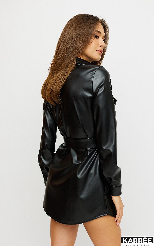 Платье Алси, Черный - фото 2