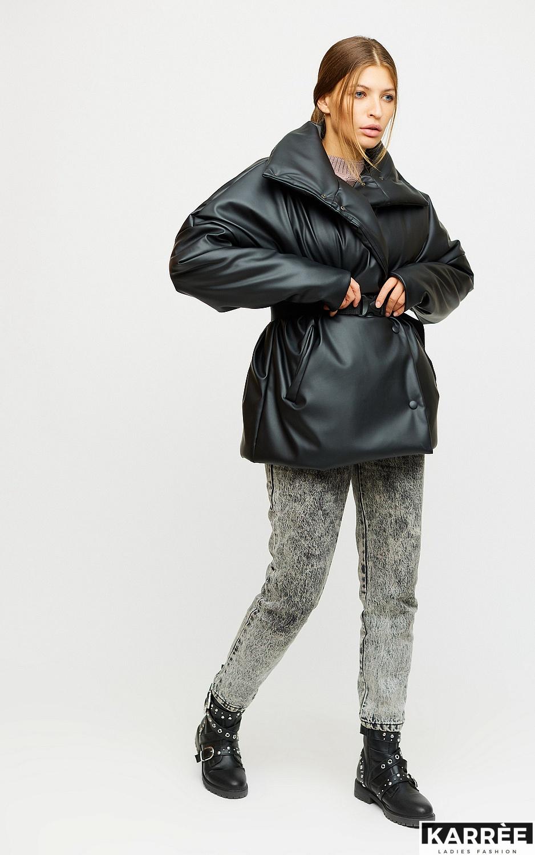 Куртка Нила, Черный - фото 3