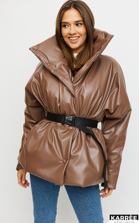 Куртка Нила, Мокко - фото 4