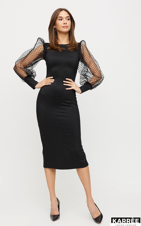 Платье Адриана, Черный - фото 4