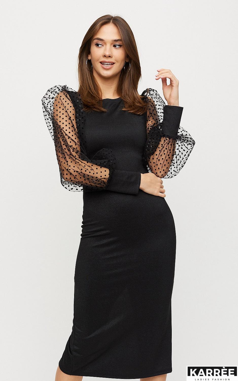Платье Адриана, Черный - фото 3