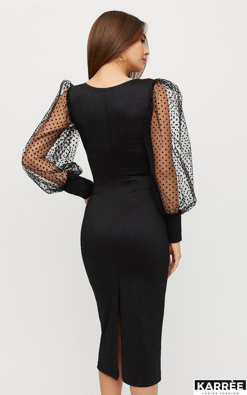 Платье Адриана, Черный - фото 5