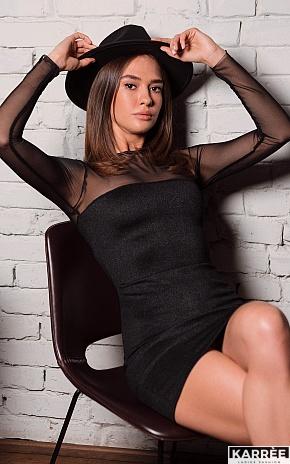 Платье Эйми, Черный - фото 1