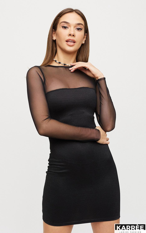 Платье Эйми, Черный - фото 3
