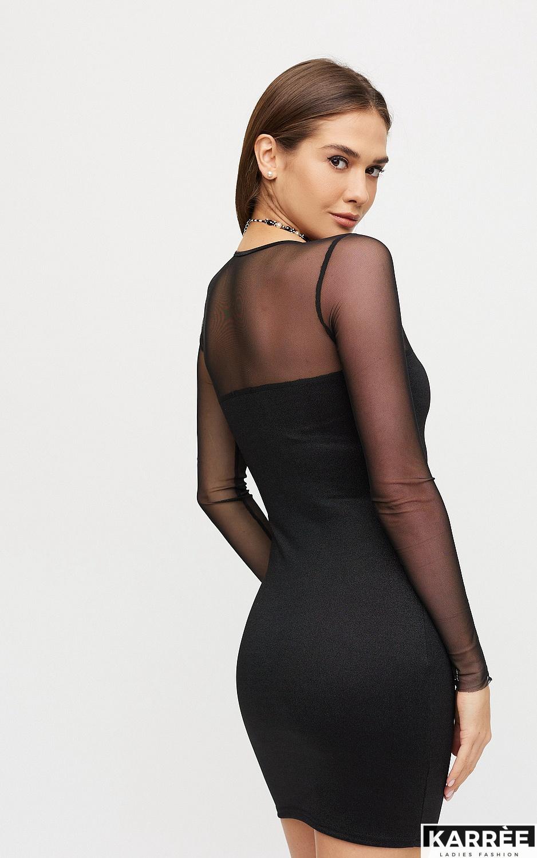 Платье Эйми, Черный - фото 4