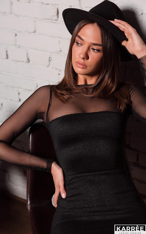 Платье Эйми, Черный - фото 2