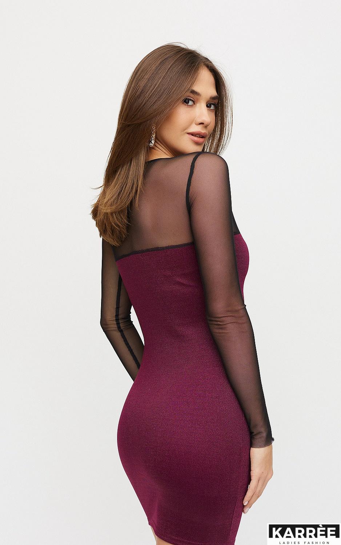 Платье Эйми, Марсала - фото 2