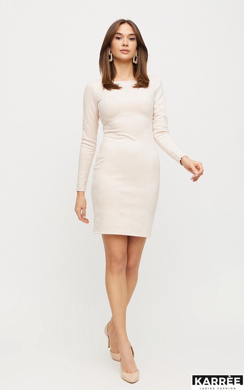 Платье Рут, Жемчужный - фото 5