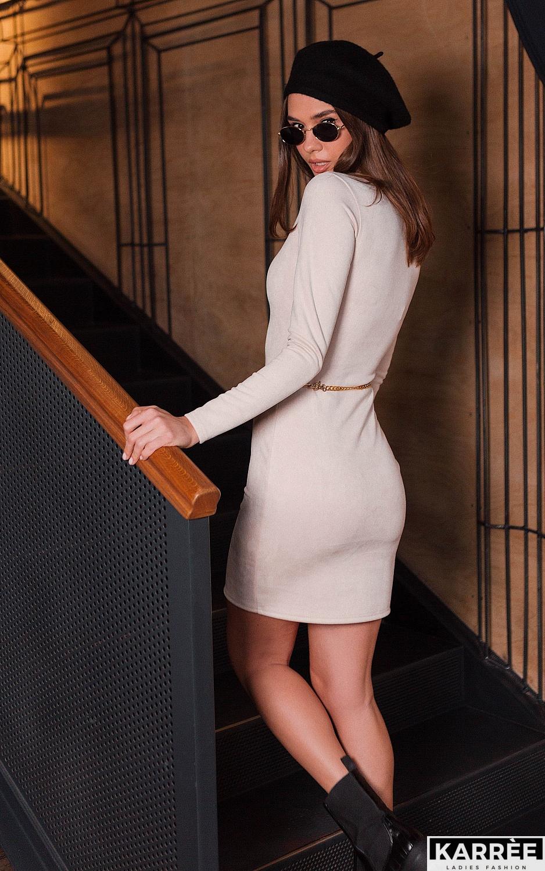 Платье Рут, Жемчужный - фото 2