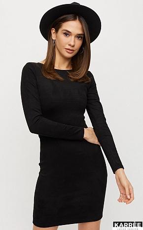 Платье Рут, Черный - фото 1