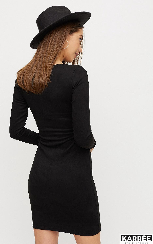 Платье Рут, Черный - фото 2