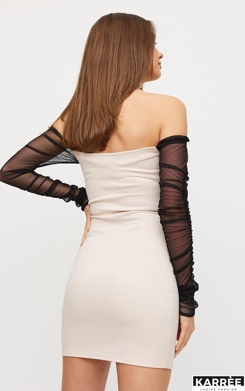 Платье Кармин, Жемчужный - фото 3