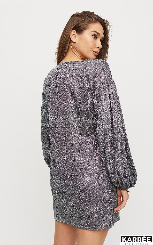 Платье Диско, Серебро - фото 4