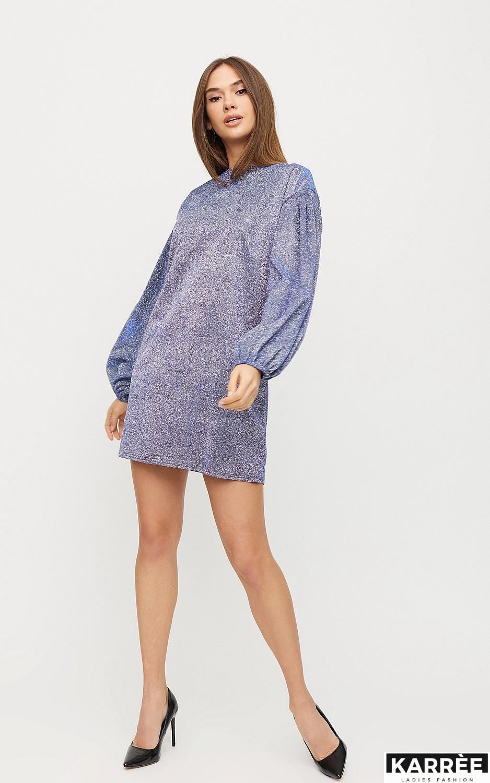 Платье Диско, Голубой - фото 3