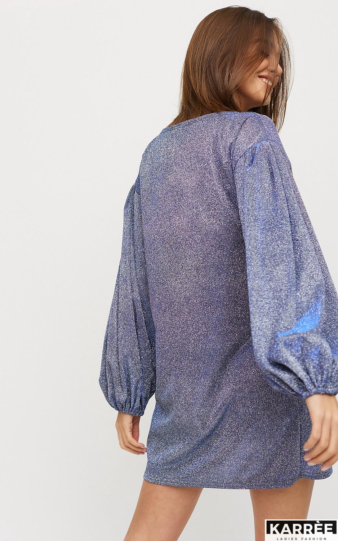 Платье Диско, Голубой - фото 2