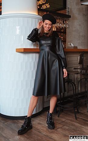Платье Кори, Черный - фото 1