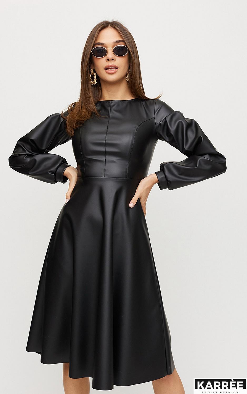 Платье Кори, Черный - фото 3