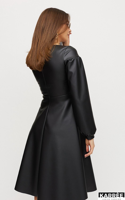 Платье Кори, Черный - фото 4