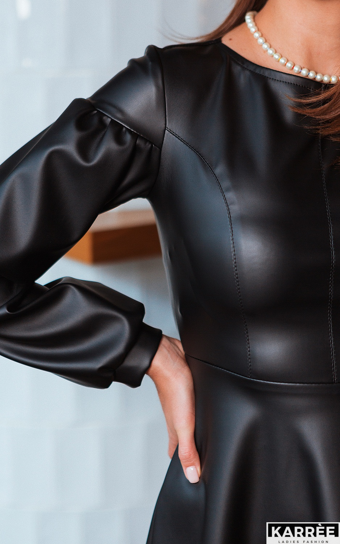 Платье Кори, Черный - фото 2