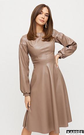 Платье Кори, Мокко - фото 1