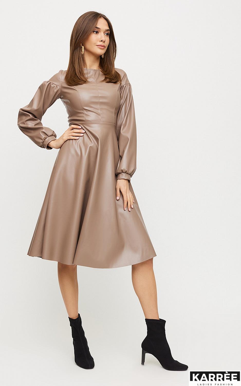 Платье Кори, Мокко - фото 3