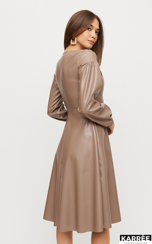 Платье Кори, Мокко