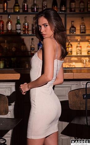 Платье Фели, Жемчужный - фото 1