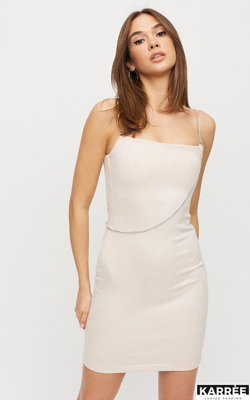 Платье Фели, Жемчужный - фото 3