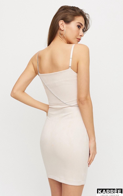 Платье Фели, Жемчужный - фото 5