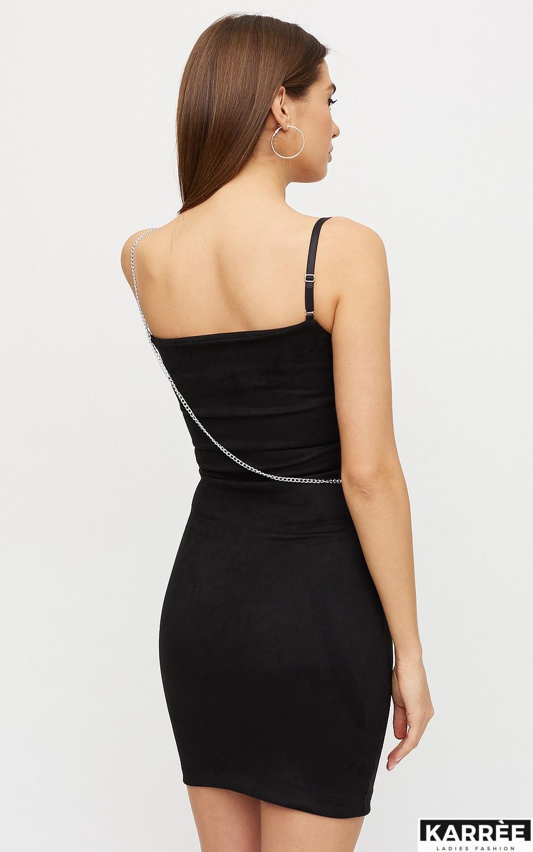 Платье Фели, Черный - фото 5