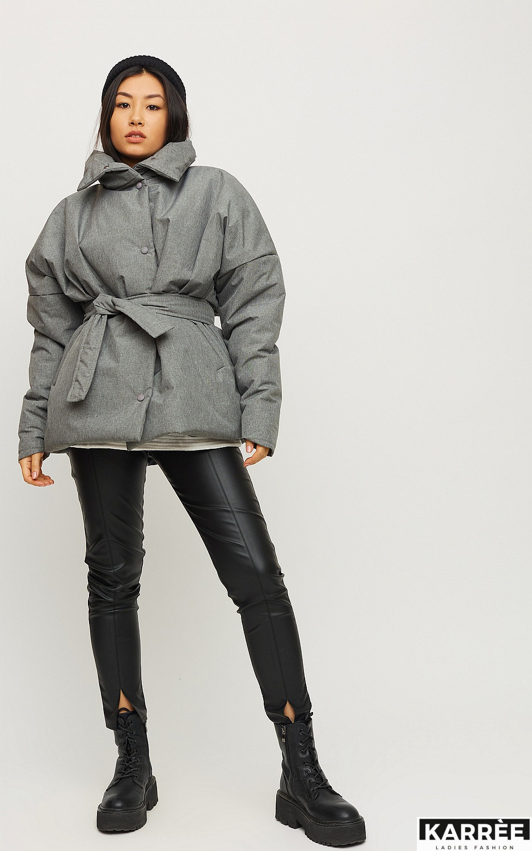 Куртка Адина, Серый - фото 4