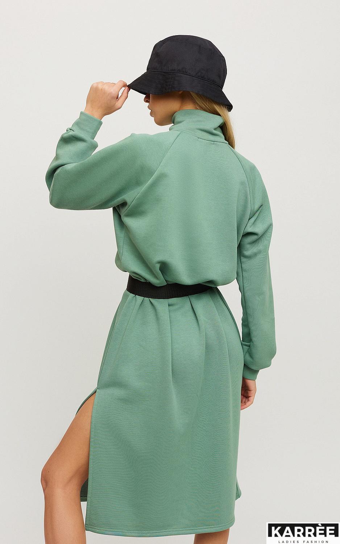 Платье Левона, Оливковый - фото 2
