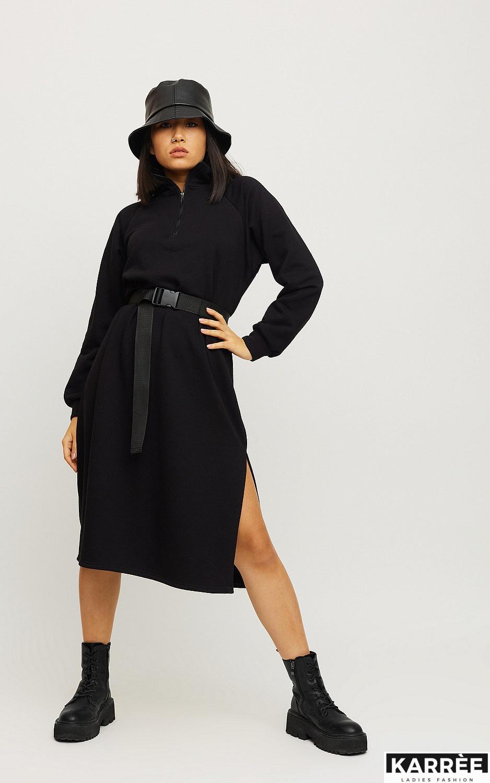 Платье Левона, Черный - фото 2