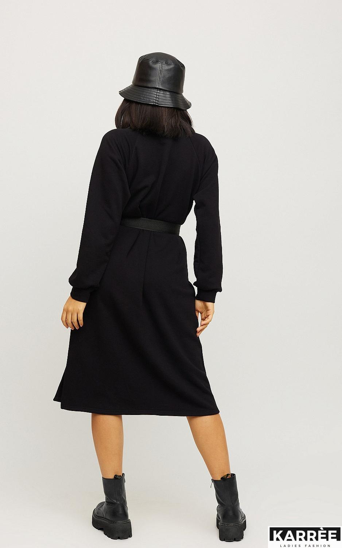 Платье Левона, Черный - фото 3