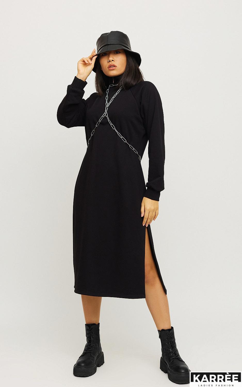 Платье Левона, Черный - фото 4