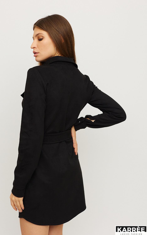 Платье Долорес, Черный - фото 2