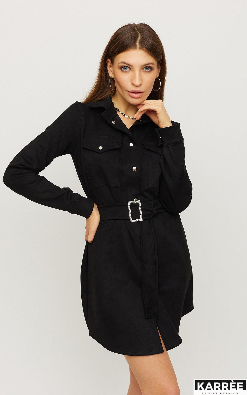 Платье Долорес, Черный - фото 3