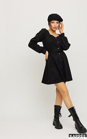 Платье Берта, Черный - фото 1