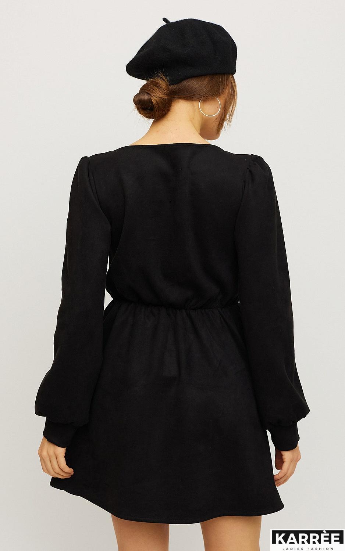 Платье Берта, Черный - фото 2