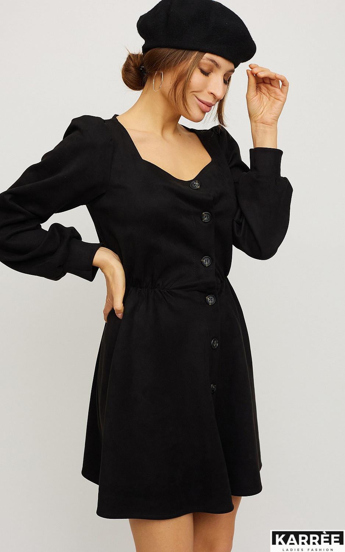 Платье Берта, Черный - фото 3