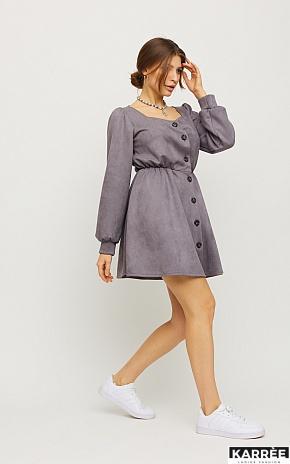 Платье Берта, Серый - фото 1