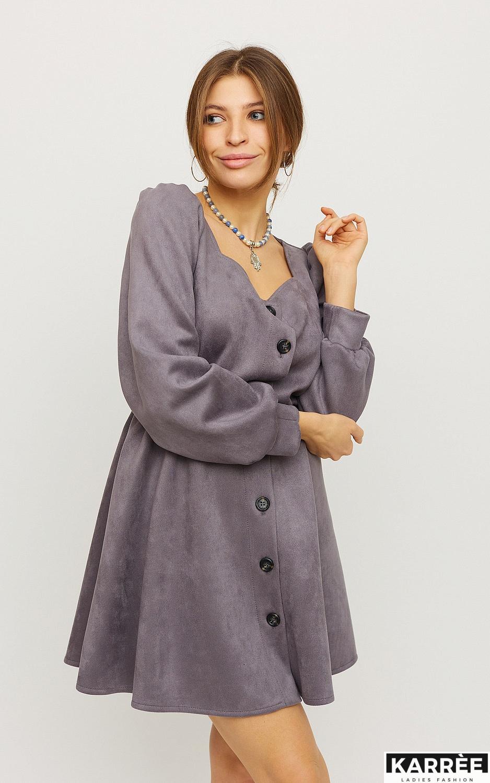 Платье Берта, Серый - фото 2