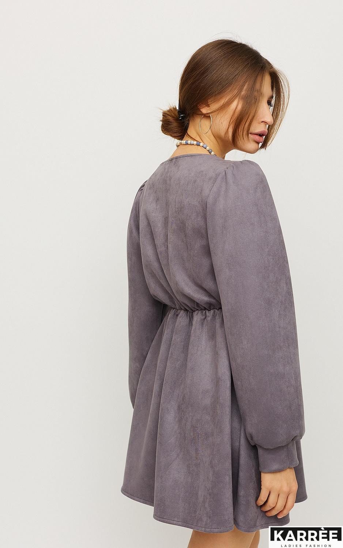 Платье Берта, Серый - фото 3
