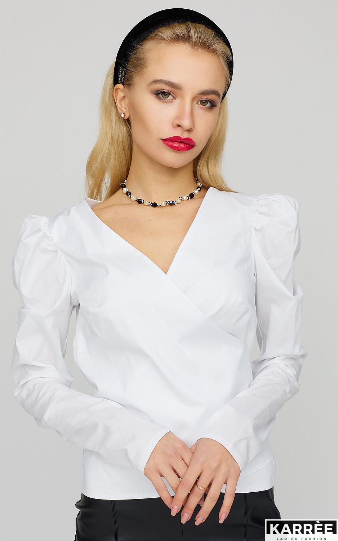 Блуза Ирис, Белый - фото 2