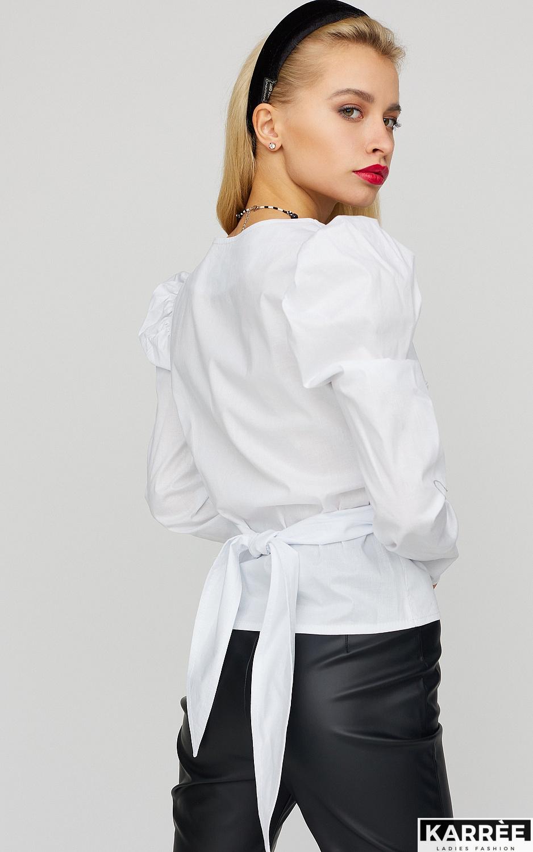 Блуза Ирис, Белый - фото 3
