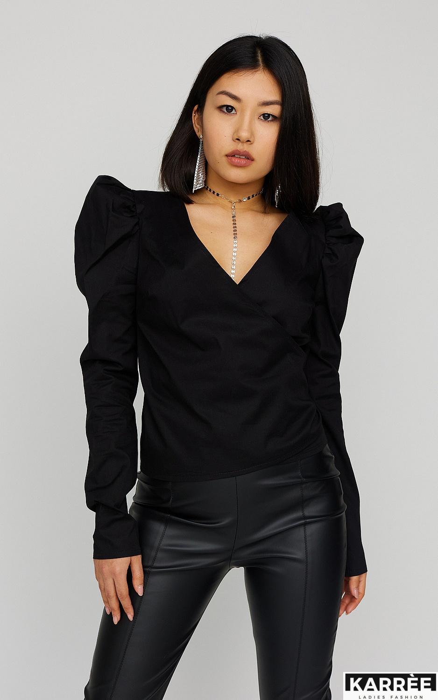 Блуза Ирис, Черный