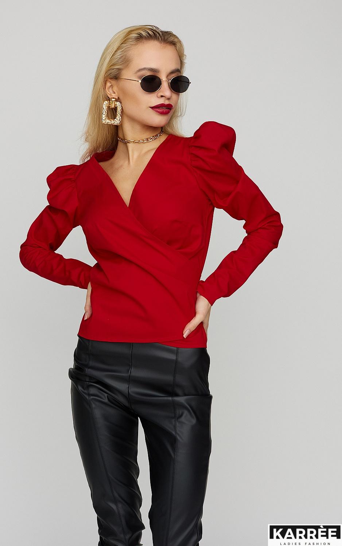 Блуза Ирис, Красный