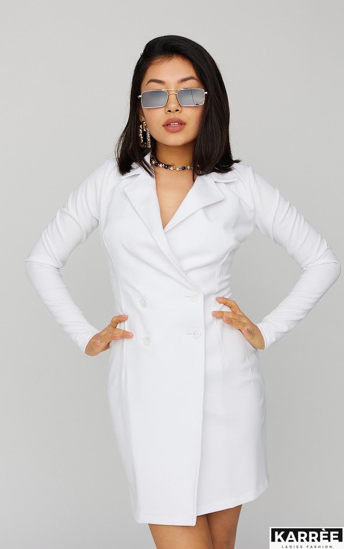 Платье Лиора, Белый - фото 2