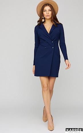 Платье Лиора, Темно-синий - фото 1